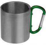 Metalowy kubek 200 ml z logo (8136709)