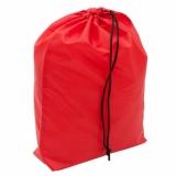 Worek na obuwie Schooltime, czerwony z logo (R08697.08)