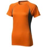 Elevate Damski T-shirt Quebec z krótkim rękawem z tkaniny Cool Fit odprowadzającej wilgoć (39016330)