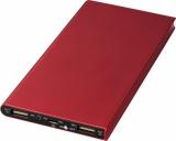AVENUE Aluminiowy powerbank Plate 8000 mAh (12411203)
