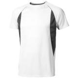 Elevate Męski T-shirt Quebec z krótkim rękawem z tkaniny Cool Fit odprowadzającej wilgoć (39015010)