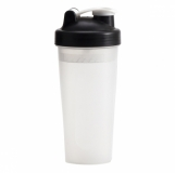 Shaker Muscle Up 600 ml, czarny z logo (R08296.02)