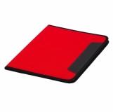 Teczka A4 Ortona, czerwony z nadrukiem (R89491.08)