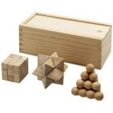 Zestaw łamigłówek drewnianych Braniac (11002900)