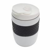Kubek izotermiczny Offroader 200 ml, biały z logo (R08317.06)