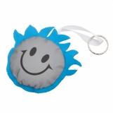 Maskotka odblaskowa Smiling Boy, niebieski/srebrny z logo (R73834.04)