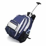 CECINA Dwukolorowy plecak na kółkach z nadrukiem (KC2589-04)