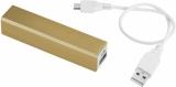 Aluminiowy akumulator powerbank Volt 2200mAh (12349207)