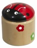 Temperówka Beetle, czerwony z logo (R73963.08)