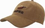Czapka z daszkiem Plain Microfibre z logo (CO403201)