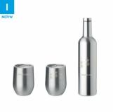 CHIN SET Zestaw butelka i kubki z logo (MO9971-16)