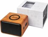 AVENUE Głośnik Wooden z bezprzewodową ładowarką indukcyjną (12400700)