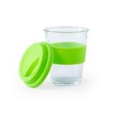 Szklany kubek podróżny 350 ml (V0987-10)