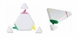 Zakreślacz trójkąt biały (19043-01)