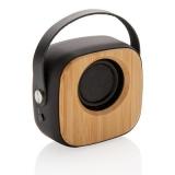 Bambusowy głośnik bezprzewodowy 3W (P328.589)