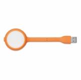 LUMIHUB Lampka LED i rozdzielacz USB z logo (MO8670-10)