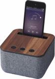 AVENUE Materiałowo-drewniany głośnik Bluetooth? Shae (10831300)