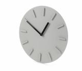 Zegar ścienny LUCIA szary (03088-14)