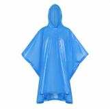 Peleryna przeciwdeszczowa dla dorosłych Rainfree, niebieski z logo (R74035.04)