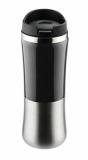 Kubek termiczny KAZO 350 ml - czarny (17258-02)