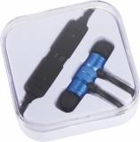 Avenue Metalowe słuchawki douszne Bluetooth&reg Martell Magnetic z futerałem (10830902)