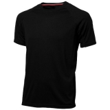 Slazenger Męski T-shirt Serve z krótkim rękawem z tkaniny Cool Fit odprowadzającej wilgoć (33019991)