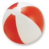 PLAYTIME Nadmuchiwana piłka plażowa z nadrukiem (IT1627-05)
