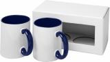 2-częściowy zestaw upominkowy Ceramic składający się z kubków z nadrukiem sublimacyjnym (10062602)