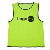 Koszulka treningowa Fit, żółty z logo (R17762.03)