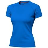 Slazenger Damski T-shirt Serve z krótkim rękawem z tkaniny Cool Fit odprowadzającej wilgoć (33020421)