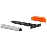 Długopis ze stylusem i czyścikiem do ekranów Robo (12358304)