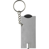 Brelok do kluczy, żeton do wózka na zakupy, lampka LED (V2452-03)