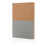 Ekologiczny, korkowy notatnik A5 (P773.922)