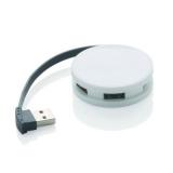 Hub USB 2.0, zintegrowany kabel (P308.113)