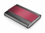 Wizytownik czarno-czerwony (07504-04)
