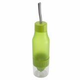 Bidon 600 ml Delight, zielony z logo (R08314.05)