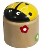 Temperówka Beetle, żółty z nadrukiem (R73963.03)