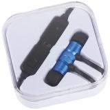 Avenue Metalowe słuchawki douszne Bluetooth® Martell Magnetic z futerałem (10830902)