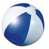 Piłka plażowa niebieska przezroczysta (20086-03)