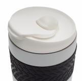 Kubek izotermiczny Offroader 200 ml, złamana biel z logo (R08317.61)