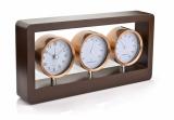 Stacja pogody - zegar, higrometr, termometr (03016)