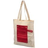 Bawełniana, zwijana torba zapinana na guzik Snap 180 g/m? (12040703)