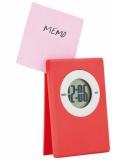 Zegar na biurko, klip do notatek (V3187-05)