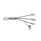 Pleciony kabel do ładowania 4 w 1 (P302.432)