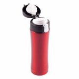 Kubek termiczny Secure 400 ml, czerwony z logo (R08424.08)