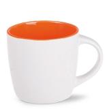Kubek HANDY PURE 310 ml biało/pomarańczowy (M132_AD_E0300_0)