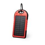 Wodoodporny power bank 4000 mAh, ładowarka słoneczna (V0354-05)