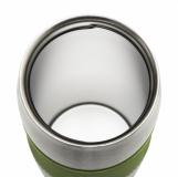 Kubek izotermiczny Harbin 350 ml, jasnozielony z logo (R08285.55)