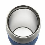 Kubek izotermiczny Harbin 350 ml, niebieski z logo (R08285.04)