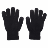 Rękawiczki Touch Control do urządzeń sterowanych dotykowo, czarny z nadrukiem (R35646.02)